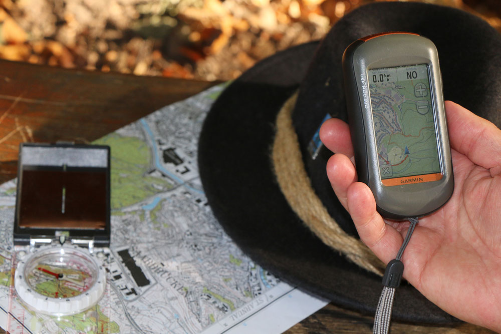 walking2nature - Garmin GPS